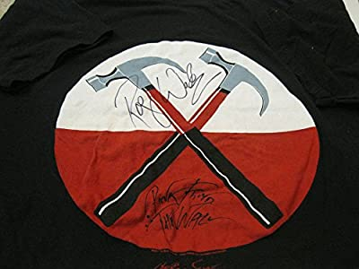 Roger Waters Hand Signed Autographed The Wall Concert T Shirt COA