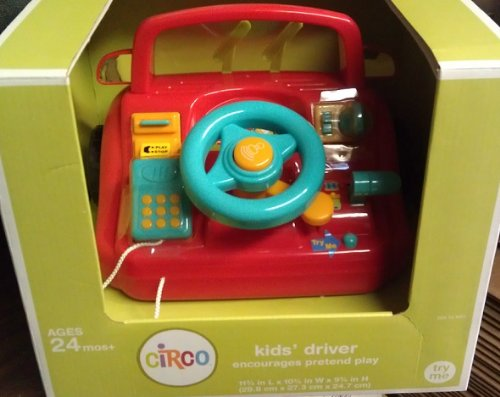 Circo Baby Driver Lights & Sounds Activity Playset 12M+ - 1