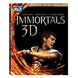 Immortals (3D/ Blu-ray + Digital Copy)