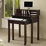 Coaster 800434 Nesting Computer Desk, Cappuccino