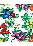 "Vinyl Tablecloths 48"" Round, Color Multi"