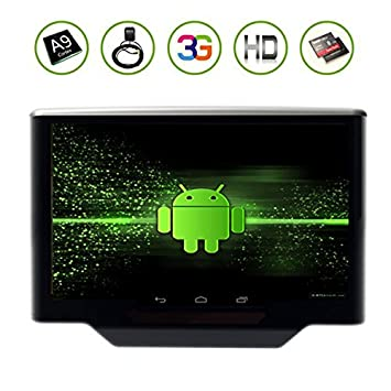 BT (Negro Gris Beige) Pur Electrš®nica Android 4.1 con 10.1 pulgadas capacitiva Auto dvd pantalla del coche Reposacabezas Android trasera de la pantalla tš¢ctil del asiento GPS Logo System Monitor Amusements Bluetooth CPU Dual Almoh