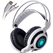 TK Eletronics SADES Arcmage 3.5mm PC Gaming Headset Surround Sound Headband Headphones Over Ear Wired Stereo Headsets...