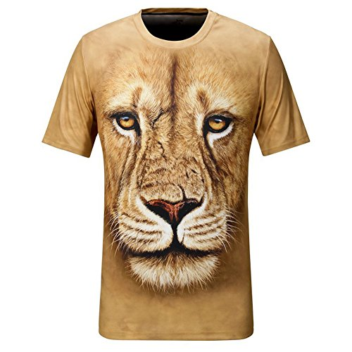 Short sleeve round neck t shirt men 3d printed clothing for Cheap quick t shirt printing