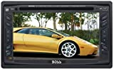 Boss Audio Systems BV9055 In-Dash Double-DIN DVD/MP3/CD AM/FM Receiver with 6.2-inch Widescreen Touchscreen TFT Monitor with USB Port and Front Panel AUX Input