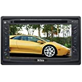 Boss Audio Systems BV9055 In-Dash Double-DIN DVD/MP3/CD AM/FM Receiver with 6.2-inch Widescreen Touchscreen TFT Monitor with USB Port and Front Panel AUX Input ~ BOSS