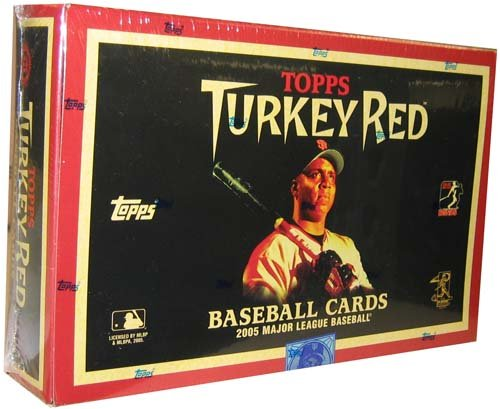 2005 Topps Turkey Red Baseball HOBBY Box - 24P
