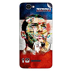 ezyPRNT Micormax Canvas 2 Colors A120 Zinadaine Zidane Football Player mobile skin sticker