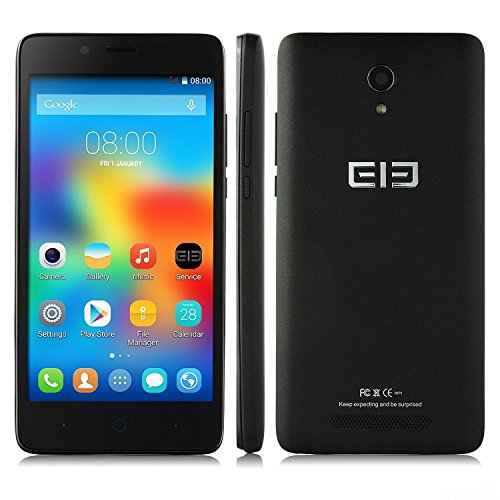 5.0″ Elephone P6000 MTK6732 64-bit Quad Core 2GB/16GB Android 4.4 Mobile Phone(Black)