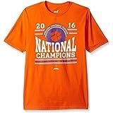 NCAA Clemson Tigers Boys National Champs Curve Nation Short Sleeve Teenational Champs Curve Nation Short Sleeve...