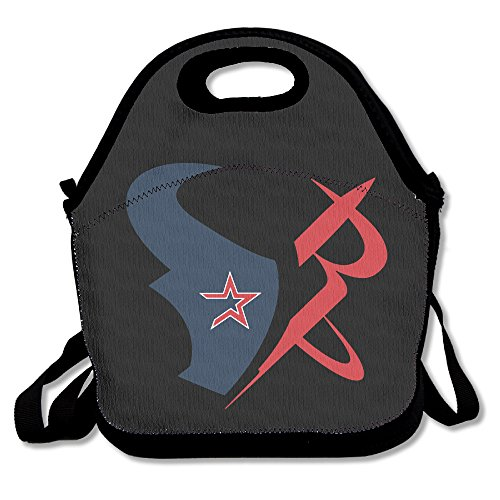 KIM Houston Taem Texans Waterproof Outdoor Travel Picnic Lunch Box With Zipper And Adjustable Crossbody Strap (Samsung Mini S4 Phillies Case compare prices)