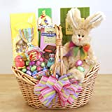 Easter Extravaganza -Easter Gift Basket of Ghirardelli, Lindt, and Jelly Belly Chocolates