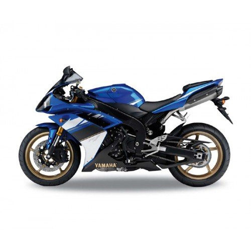 2008-Yamaha-YZF-R1-Welly-62802-Blue-110-Die-Cast