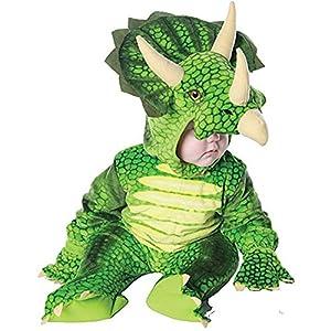 Green Triceratops Dinosaur Toddler Costume - 2T-4T