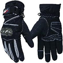 Tonsiki Men Knight Winter Warm Waterproof Windproof Protection Cars Motorcycle Gloves