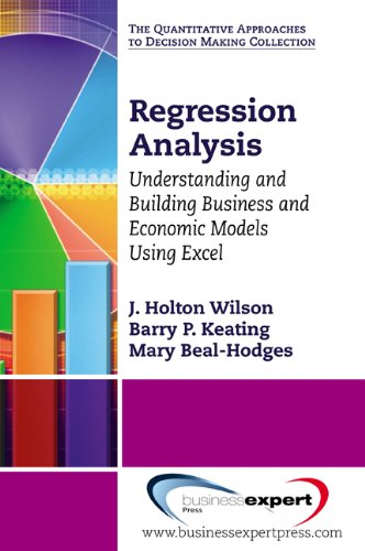 Regression Analysis: Understanding and Building Models Using Excel (Excel Models compare prices)