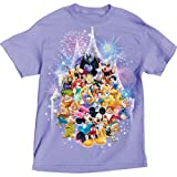 Disney Womens Castle Character T Shirt