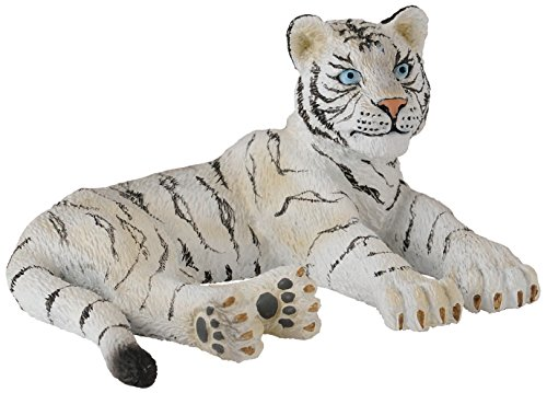 CollectA White Tiger Cub (Lying) Figure