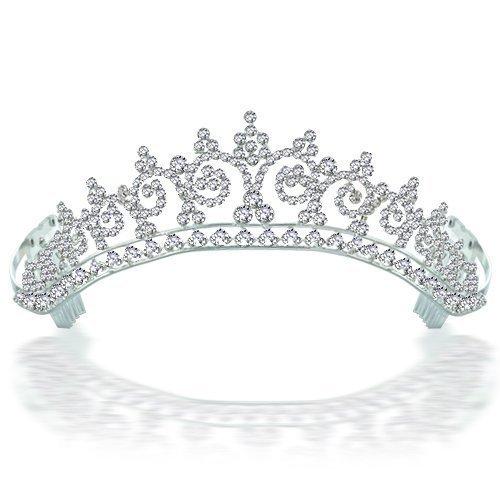 Bling Jewelry Kate Middleton Inspired Royal Wedding Halo Tiara