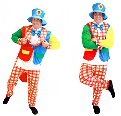 Purplebox Halloween Costume Clown Dress Clothes Clown Clothes Clown Masquerade