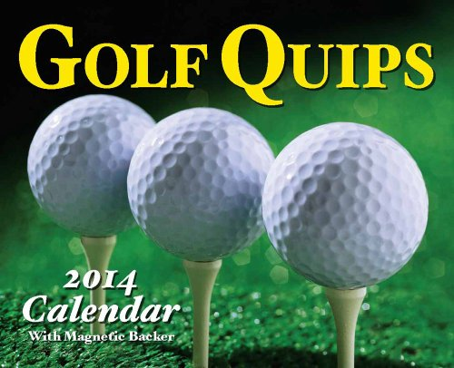Golf Quips 2014 Mini Day-to-Day Calendar