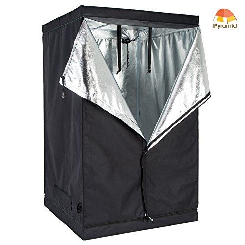iPyarmid-48x48x78-Indoor-Grow-Tent-Room-Reflective-600D-Mylar-Hydroponic-Non-Toxic-Hut