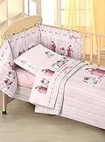 Anne Geddes Coordinato Culla Ag Pink Bunnies (Rosa)