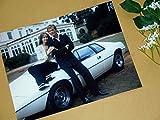 特大写真SP、007、ロジャー・ムーアとロータス・エスプリ