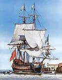 Heller Sirene Ship of The Line Boat Model Building Kit