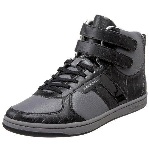 Creative Recreation Men's Dicoco High-Top Sneaker,Black/Stone,10 D US