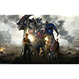 Posterhouzz Movie Transformers: Age Of Extinction Transformers HD Wallpaper Background Fine Art Paper Print Poster