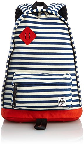 [チャムス] CHUMS Classic Day Pack Sweat Nylon CH60-0681 NavyNatural/Red Coral (ネイビーナチュラルレッドコーラル)