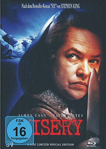 Misery - Limited Special Collectors Mediabook Edition auf 333 Stk. (Cover C) [Blu-ray]