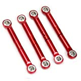 Atomik RC Alloy Front/Rear Push Rod 1:16 Traxxas Slash 4X4 + Other Models - Red