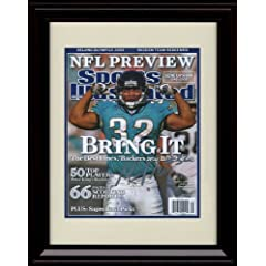 Framed Maurice Jones-Drew Sports Illustrated Autograph Print - 9 1 2008 -... by Framed Sport Prints