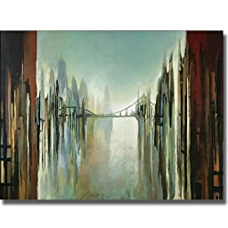 Bridges and Towers by Gregory Lang Premium Stretched Canvas (Ready-to-Hang)