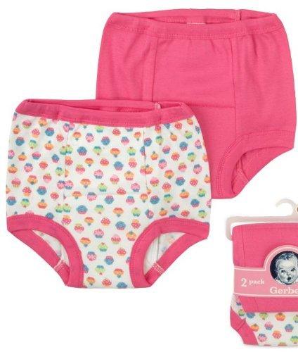 Gerber Training Pants 18M Girl 6 Pack 24-28 Pounds 2012