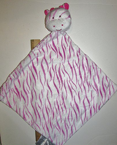 Carter's Child of Mine Pink Giraffe Rattle Security Blanket