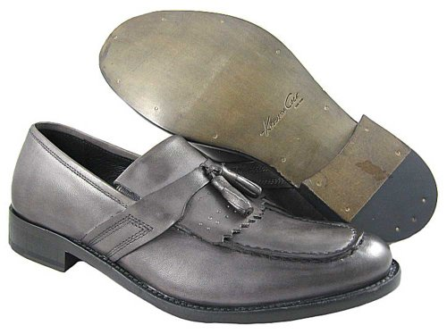Kenneth Cole New York Men's Cover P-Age Slip-On, Vintage Black, 10 M US