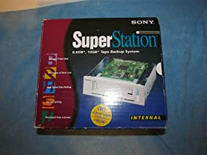 SONY SuperStation 10GB TAPE BACKUP p/n: SS-INT