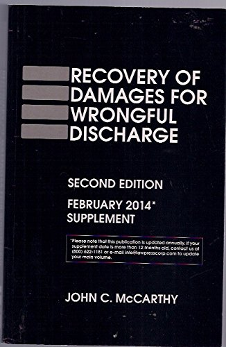Recovery of damages for wrongful discharge 2d PDF