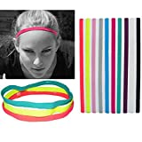 Tired of your hair getting into your eyes? Yup, we were too. So we designed this Anti-slip sports headband to stay on your head like no other to keep your eyes on the prize.SIMPLE COMFORTABLE DESIGNElastic band holds hair in place for secure ...