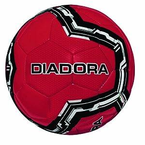 Diadora Lido Soccer Ball (Red, 3)