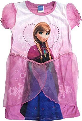Disney Frozen Anna tutù-Costume da principessa per bambina, taglia: 5-6 anni