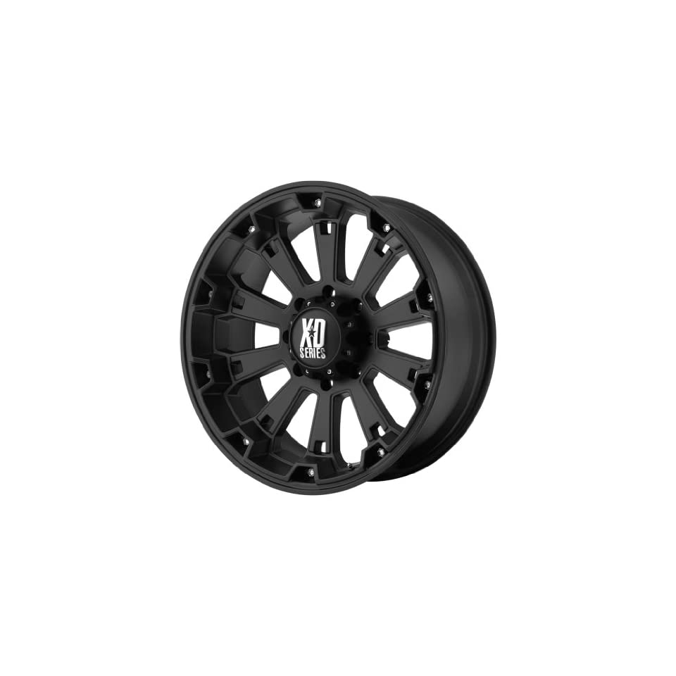 KMC XD Series Misfit (20 x 9, 5 x 139.7/5.5) 0 Offset, Matte Black, (1) Wheel/Rim Automotive