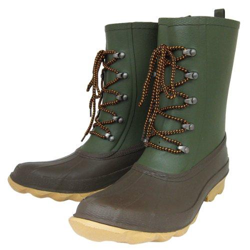 M'c WALKER(マックウォーカー) メンズ レインブーツ 長靴 防水 軽量 (28cm, カーキ)