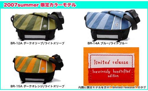 Crumpler - BR-15A The Barney Rustle Blanket Black/Orange/Olive