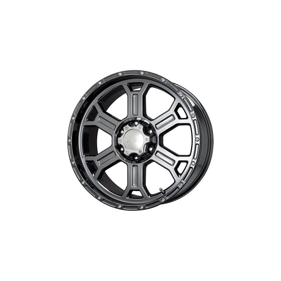V Tec Raptor Phantom Black Chrome Wheel (20x9.5/6x139.7mm)