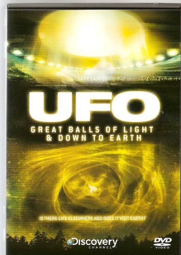 DISCOVERY CHANNEL - UFO - GREAT BALLS OF LIGHT & DOWN TO EARTH - NEW BUT NOT SEALED - VERY COLLECTABLE AND RARE TO FIND