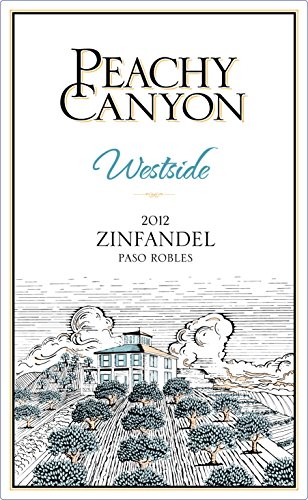 2012 Peachy Canyon Westside Paso Robles Zinfandel 750Ml